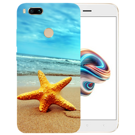 Star Fish Printed Case Cover For Redmi MI A1 by Mobiflip