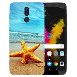Star Fish Printed Case Cover For HONOR P9I by Mobiflip