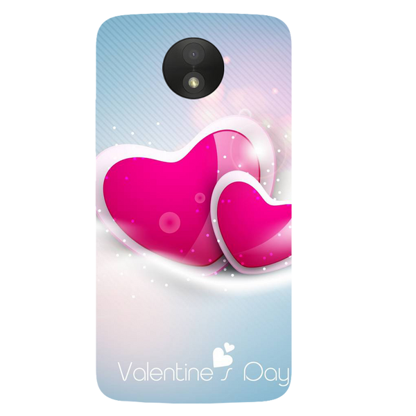 Valentines Day Printed Case Cover For Motorola C Plus by Mobiflip