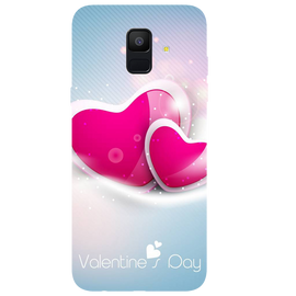 Valentines Day Printed Case Cover For Samsung A6 by Mobiflip