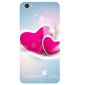 Valentines Day Printed Case Cover For VIVO Y55 by Mobiflip