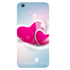 Valentines Day Printed Case Cover For OPPO F3 by Mobiflip