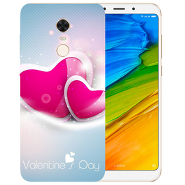 Valentines Day Printed Case Cover For Redmi 5 Plus by Mobiflip