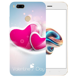 Valentines Day Printed Case Cover For Redmi MI A1 by Mobiflip