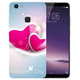 Valentines Day Printed Case Cover For VIVO V7 Plus by Mobiflip