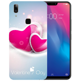 Valentines Day Printed Case Cover For VIVO V9 Youth by Mobiflip