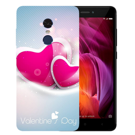 Valentines Day Printed Case Cover For Redmi Note 4 by Mobiflip