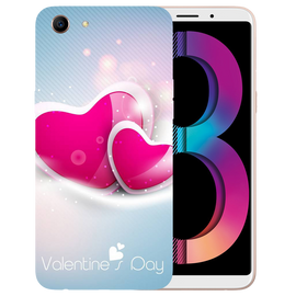 Valentines Day Printed Case Cover For OPPO A83 by Mobiflip