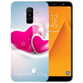 Valentines Day Printed Case Cover For Samsung A6 Plus by Mobiflip