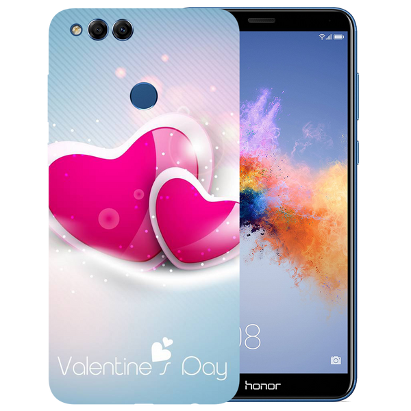 Valentines Day Printed Case Cover For HONOR 7X by Mobiflip