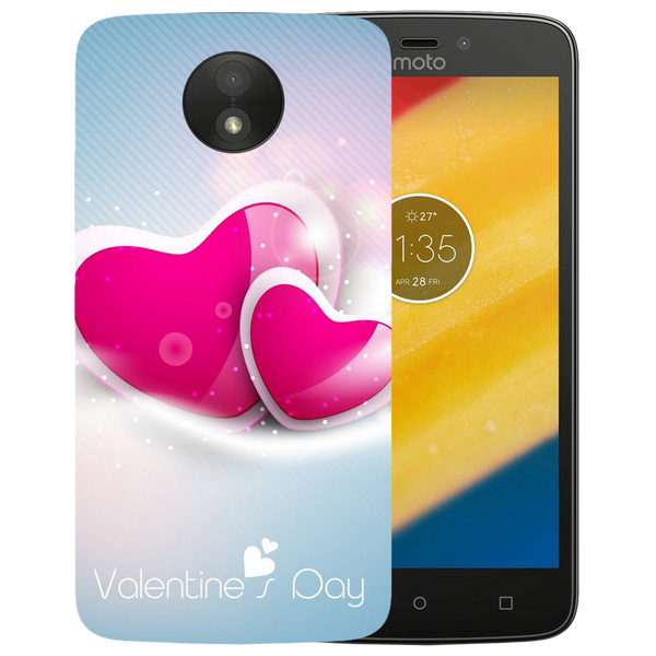 Valentines Day Printed Case Cover For Motorola C by Mobiflip