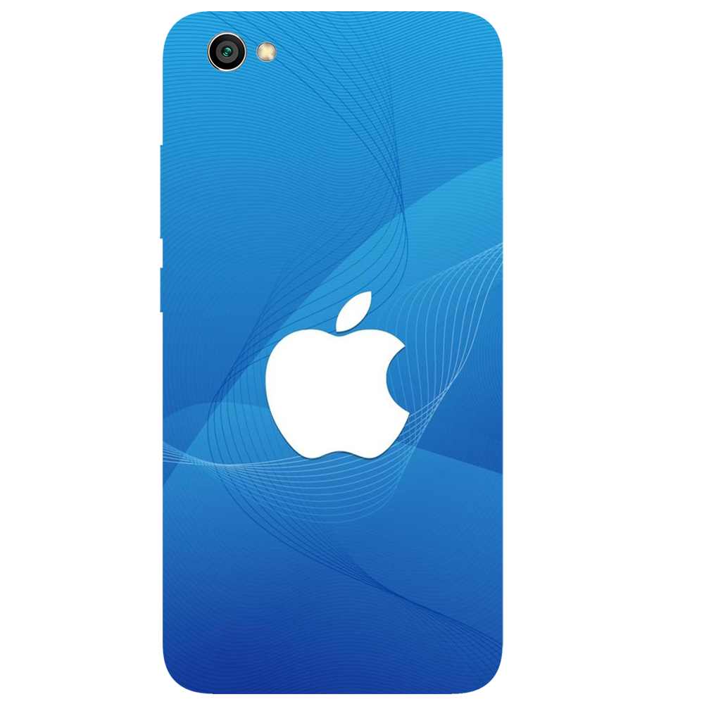 Blue Apple Printed Case Cover For Redmi Y1 Lite by Mobiflip