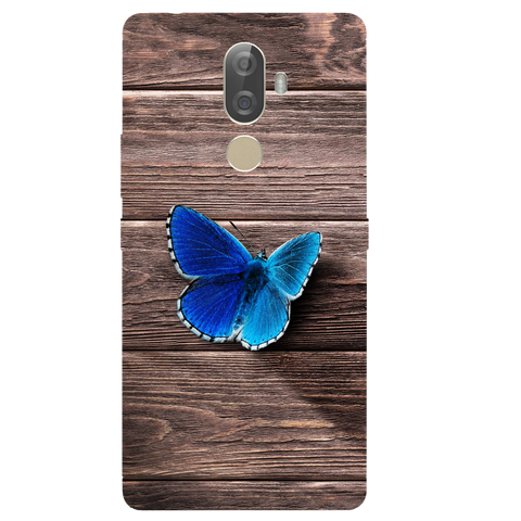 Butterfly Printed Case Cover For Lenovo K8 Note Plus by Mobiflip
