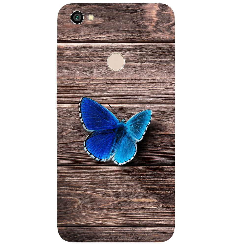 Butterfly Printed Case Cover For Redmi Y1 by Mobiflip