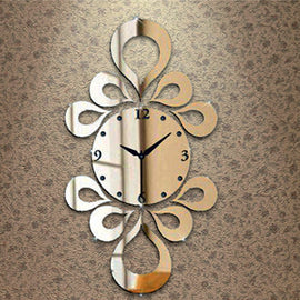 Antique Acrylic Art Designer wall clock for Home and Office AS43