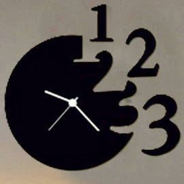 Antique Acrylic Numbers Art Designer wall clock for Home and Office AS67