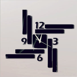Antique Acrylic Swastik Art Designer wall clock for Home and Office