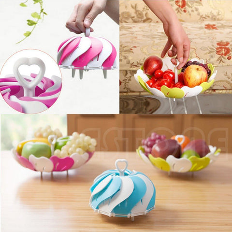 Primelife Plastic Fruit Bowls Flower Basket