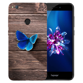 Butterfly Printed Case Cover For HONOR 8 Lite by Mobiflip