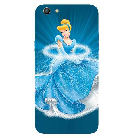 Barbie Angel Printed Case Cover For OPPO F3 by Mobiflip