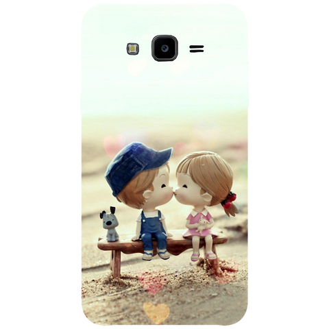 Baby Kiss Printed Case Cover For Samsung J7 NXT by Mobiflip