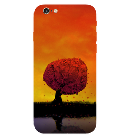Tree Art Printed Case Cover For iPhone 6 by Mobiflip