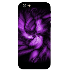 Purple Art Printed Case Cover For iPhone 6 by Mobiflip