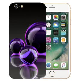 Water Bubble Printed Case Cover For iPhone 6 by Mobiflip
