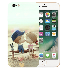 Baby Kiss Printed Case Cover For iPhone 6 by Mobiflip
