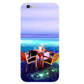 Open Dining Printed Case Cover For iPhone 6 by Mobiflip
