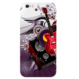 Guitar Art Printed Case Cover For iPhone 6 by Mobiflip