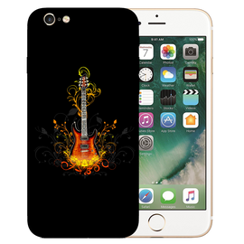 Golden Guitar Printed Case Cover For iPhone 6 by Mobiflip