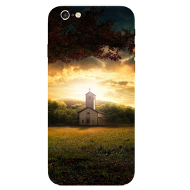 Sunset House Printed Case Cover For iPhone 6 by Mobiflip
