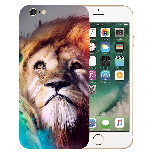 Lion Art Printed Case Cover For iPhone 6 by Mobiflip
