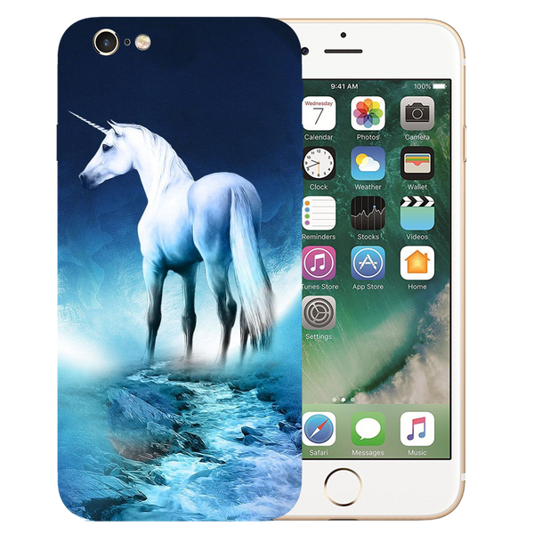 Horse Art Printed Case Cover For iPhone 6 by Mobiflip