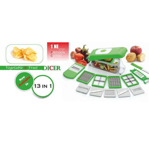 Primelife Vegetable Chipser 12 In 1 Chopper