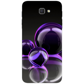 Purple Art Printed Case Cover For Samsung J5 Prime by Mobiflip
