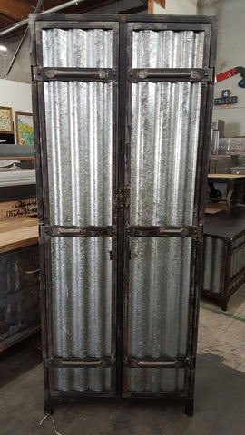 Corrugated Metal Lockers
