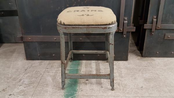 Grain Sack Stool