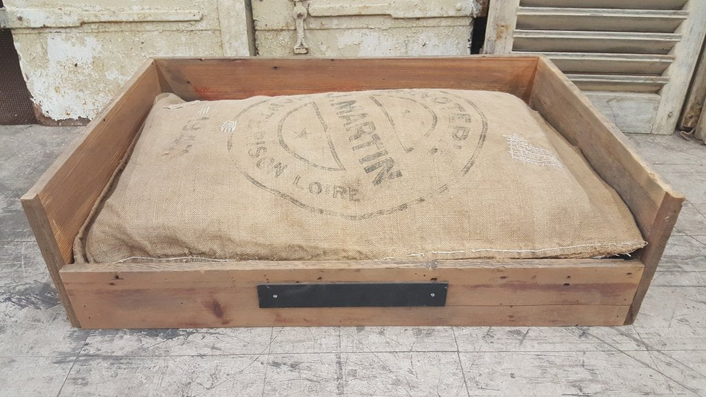 Large Repurposed Barn Wood Pet Bed
