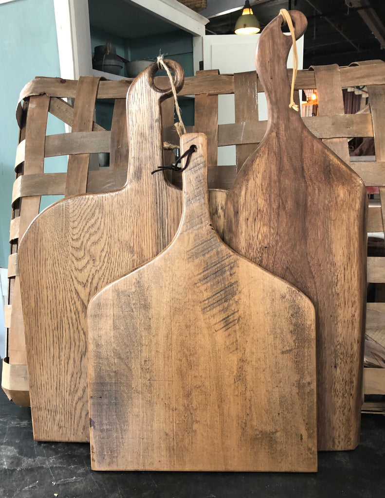 Cutting Boards Made from Reclaimed Barn Wood