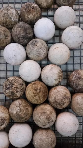 Water Filtration Balls From Chattahoochee River