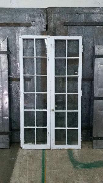 Pair of White French Doors