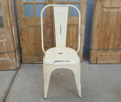 Cream Tolix Chair