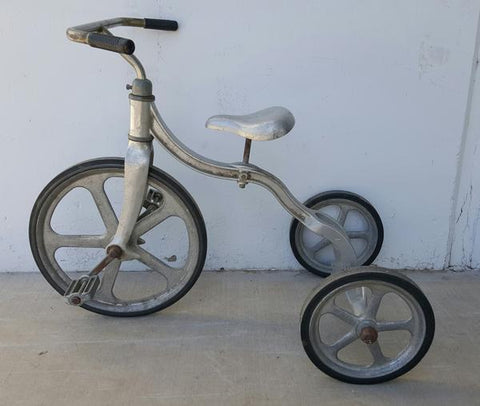Vintage Metal Tricycle