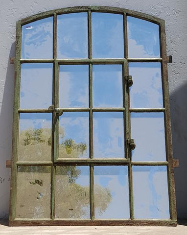 16 Pane Iron Mirror