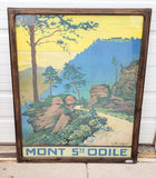 Framed Travel Prints, France c.1950 (Various Cities Avail)