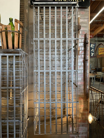 Tall Metal Wine Cage