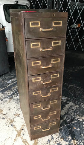 8 Drawer Metal Cabinet