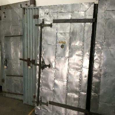 Large Metal Door